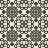 Teste padrão barroco ilustração royalty free