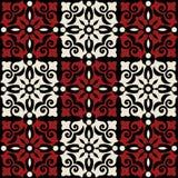 Teste padrão barroco decorativo Foto de Stock Royalty Free