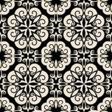 Teste padrão barroco decorativo Fotografia de Stock Royalty Free