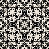 Teste padrão barroco decorativo Imagem de Stock