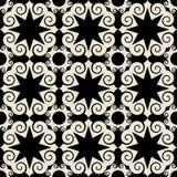 Teste padrão barroco decorativo Foto de Stock