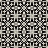 Teste padrão barroco decorativo Fotografia de Stock