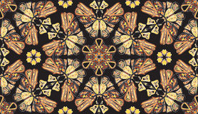 Teste padrão batterfly sem emenda do sumário Foto de Stock
