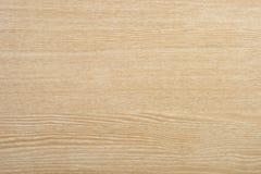 Teste padrão bege da madeira de Brown Imagem de Stock Royalty Free