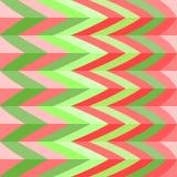 Teste padrão bonito brilhante sem emenda de listras diagonais e horizontais iridescentes da espessura igual para meninas ou crian Fotografia de Stock