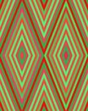 Teste padrão bonito brilhante sem emenda de listras diagonais e horizontais iridescentes da espessura igual para meninas ou crian Imagem de Stock
