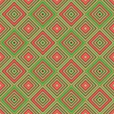 Teste padrão bonito brilhante sem emenda de listras diagonais e horizontais iridescentes da espessura igual para meninas ou crian Fotos de Stock