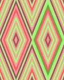 Teste padrão bonito brilhante sem emenda de listras diagonais e horizontais iridescentes da espessura igual para meninas ou crian Imagens de Stock Royalty Free
