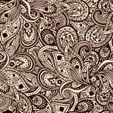 Teste padrão bonito de paisley Imagem de Stock Royalty Free