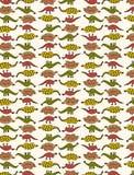 Teste padrão bonito do dinossauro Imagens de Stock