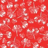 Teste padrão bonito louco da aquarela das folhas Feito a mão pintado ilustração royalty free
