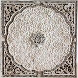 Teste padrão bonito na parede de um madarsa em Fes, Marrocos Foto de Stock Royalty Free