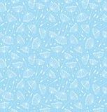 Teste padrão bonito tirado mão do Flourish ilustração do vetor