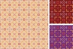 Teste padrão bordado Fotografia de Stock