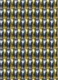 Teste padrão - bracelete de relógio metálico Foto de Stock