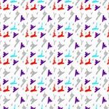 Teste padrão branco abstrato Ilustração do Vetor