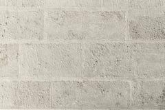 Teste padrão branco do fundo da parede de tijolo Foto de Stock