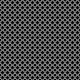 Teste padrão branco do quatrefoil Imagens de Stock