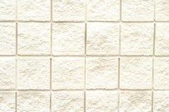 Teste padrão branco do tijolo Fotos de Stock