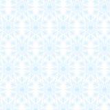 Teste padrão branco dos flocos de neve do laço Fotografia de Stock