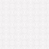 Teste padrão branco geométrico do vetor de Seanless Imagens de Stock Royalty Free