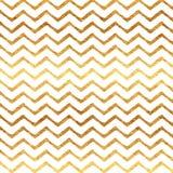 Teste padrão branco metálico do fundo de Chevron da folha do falso do ouro Foto de Stock Royalty Free