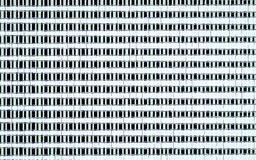 Teste padrão branco preto abstrato Imagem de Stock