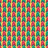 Teste padrão brilhante de repetição sem emenda do saco de plástico imagens de stock
