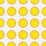 Teste padrão brilhante do vetor do limão Imagens de Stock Royalty Free