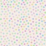 Teste padrão brilhante sem emenda do arco-íris de diamantes pequenos ilustração royalty free