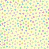 Teste padrão brilhante sem emenda do arco-íris de diamantes pequenos ilustração stock