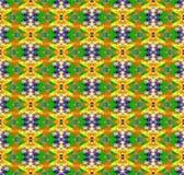 Teste padrão caótico colorido sem emenda abstrato do fractal da arte Foto de Stock