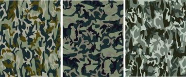 Teste padrão camuflar ilustração royalty free