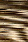 Teste padrão cego de bambu de Backgroundl courtain de madeira Fotografia de Stock Royalty Free