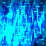Teste padrão celestial brilhante do vetor dos fragmentos e dos triângulos com s ilustração royalty free