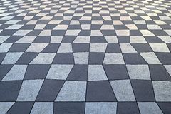 Teste padrão Checkered Imagem de Stock