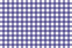 Teste padrão checkered roxo e branco Foto de Stock