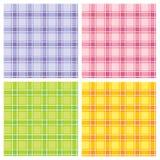 Teste padrão checkered sem emenda Imagem de Stock