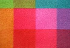 Teste padrão chequered colorido Fundo Foto de Stock