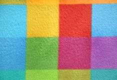 Teste padrão chequered colorido Fundo Foto de Stock Royalty Free