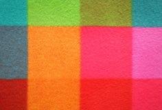 Teste padrão chequered colorido Fundo Fotografia de Stock Royalty Free