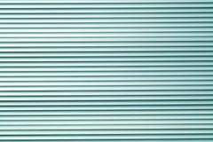 Teste padrão ciano da parede do armazém do metal da cor fotos de stock royalty free