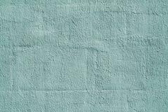 Teste padrão ciano da parede do emplastro da cor imagem de stock