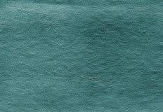 Teste padrão ciano da superfície do couro da cor fotografia de stock royalty free