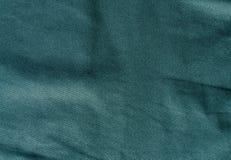 Teste padrão ciano de matéria têxtil da cor fotografia de stock