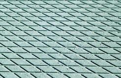 Teste padrão ciano do assoalho do cimento da cor com efeito do borrão fotografia de stock