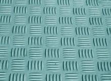 Teste padrão ciano do assoalho do metal da cor com efeito do borrão foto de stock