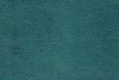 Teste padrão ciano do couro artificial da cor fotografia de stock royalty free
