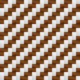 Teste padrão cinzento do weave de Brown Foto de Stock Royalty Free