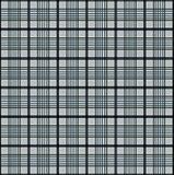 Teste padrão cinzento dos quadrados Fotografia de Stock Royalty Free